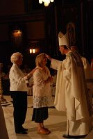Cathedral's Easter Vigil welcomes 20 into full communion with church