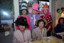 Italian American Civic League women in Wonderland
