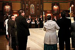 Bishop Wester welcomes deacon candidates