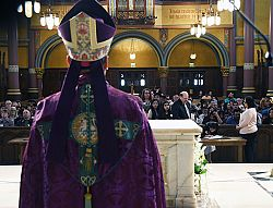 Rite of Election at Cathedral of the Madeleine