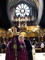 Bishop Solis' first weekend: Rite of Election, Sunday Masses in the cathedral