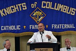 At annual convention, Knights of Columbus urged to be force for unity, examples of Catholic love