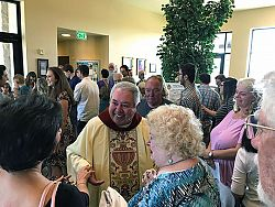 Parishes celebrate retiring priests/Father Patrick Elliott