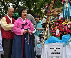 Diocesan Intercultural Marian Celebration honors the Blessed Mother with procession, Mass