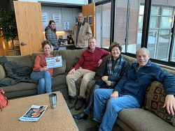 'Coffee with the Clergy' promotes fellowship