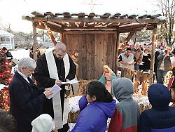 Nativity Scene Brings Meaning of Christmas to Community