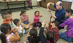 St. Thomas Aquinas program brings music alive for youngsters in the Logan community