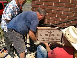 St. Mary's parishioner rescues time capsule
