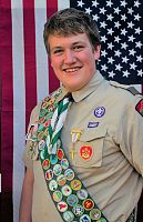 Local Catholic Scout wins service scholarship