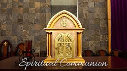 Videos with local priests explain spiritual communion