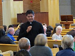 RCIA retreat focuses on the signs that shape the Church