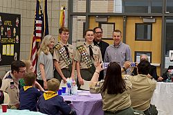 Scouts Recognized