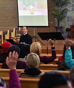 Themes of hope and joy at diocesan Advent retreat