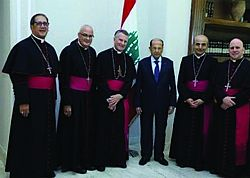 Bishop Solis visits Lebanon