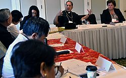 Bishop Solis chairs USCCB subcommittee advisory board meeting in Salt Lake City