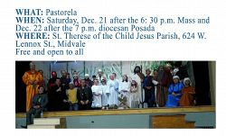 Parishioners keep tradition alive with Pastorela