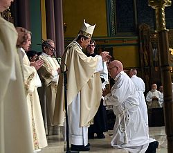 Bishop Solis Ordains Five Deacons for the Diocese of Salt Lake City