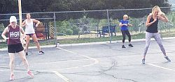 St. Vincent de Paul School librarian offers free outdoor fitness classes during pandemic